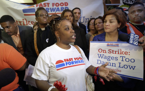 Milwaukee fast food workers participate in nationwide strike over higher wages