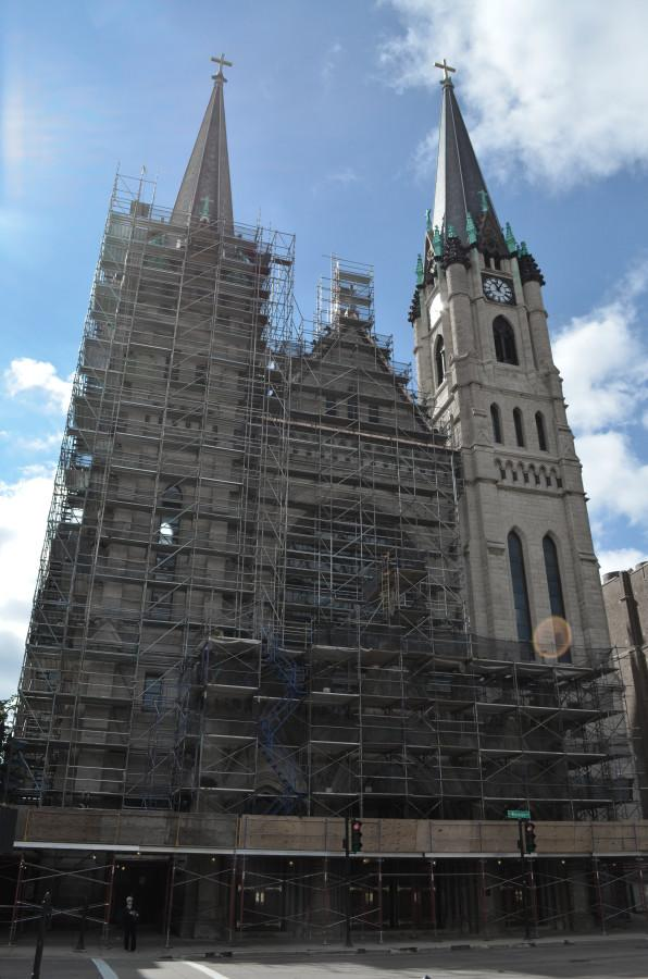 Gesu's exterior to remain under construction until 2014
