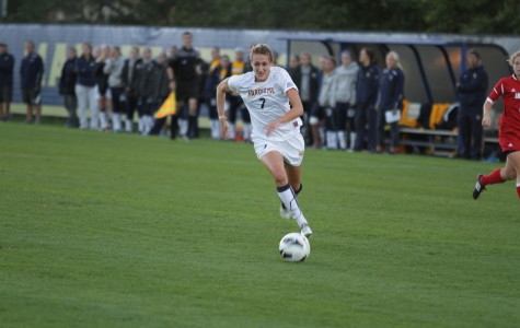 Women's soccer shuts out 'Nova for 4th-straight victory
