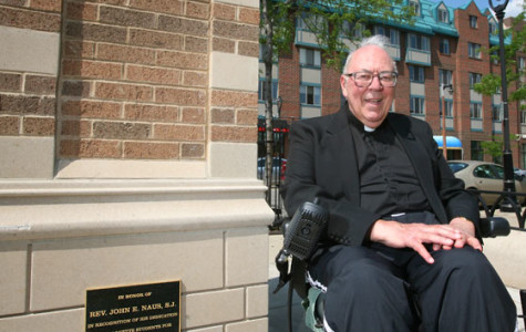 Father Naus passes away at 89