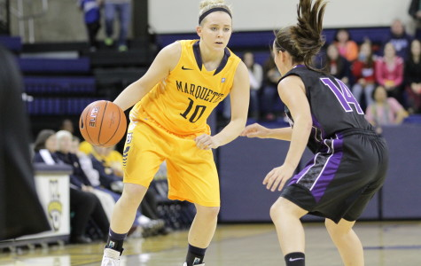 Morse's 20 first half points lead Marquette to victory