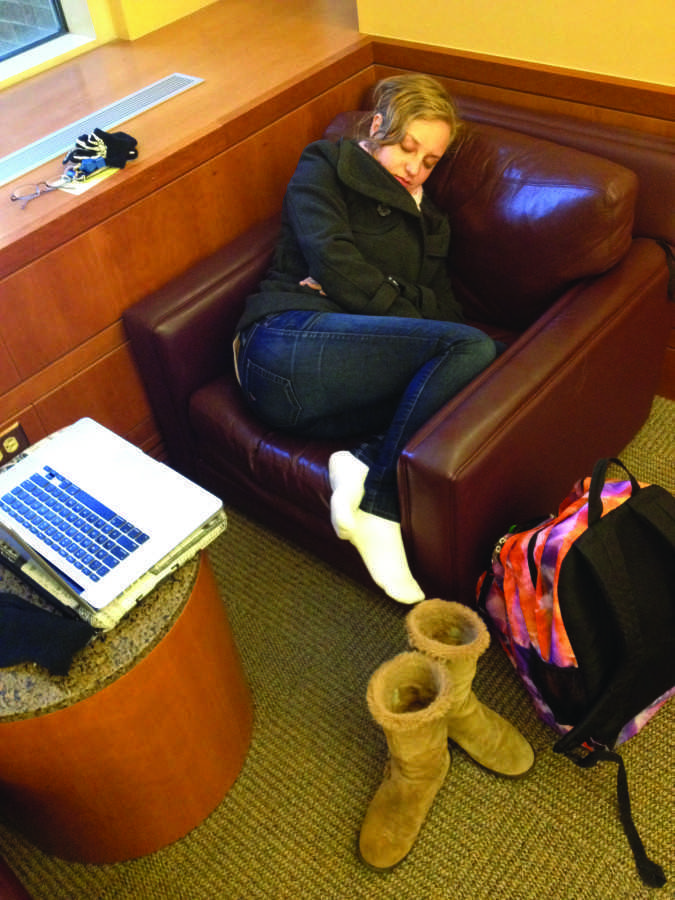 Can you really live in the library?