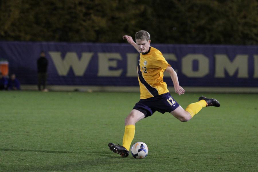 Men's soccer bounced by UVA