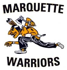 Marquette University's previous mascot the Warrior.