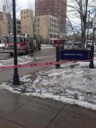 Johnston Hall gas leak caused by Sensenbrenner construction