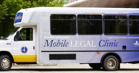 Attorneys offer free legal advice in mobile, MU bus