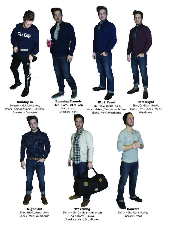Versatile Mens Fashion for Winter