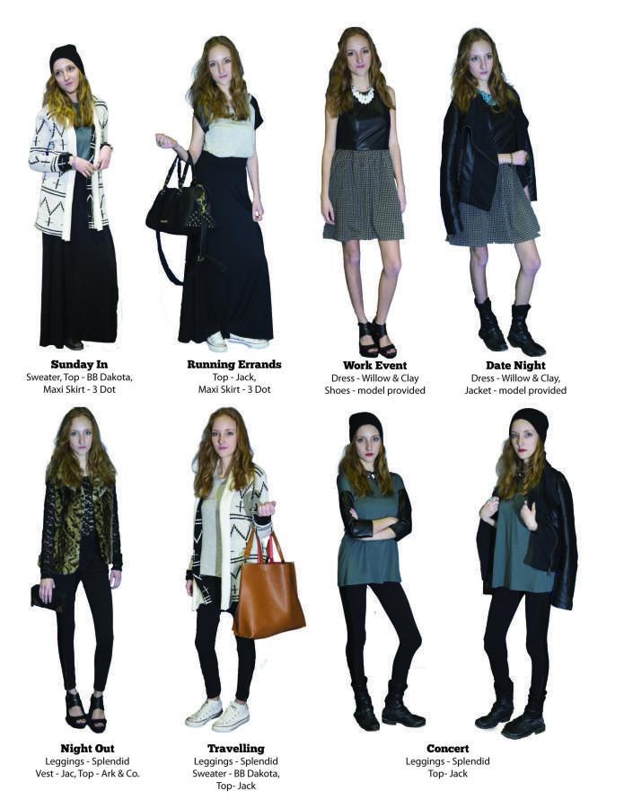 Versatile Women's Fashion for Winter