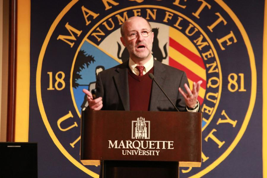 The Rev. James Voiss is one of many speakers featured during Marquette's 14th annual Mission Week.