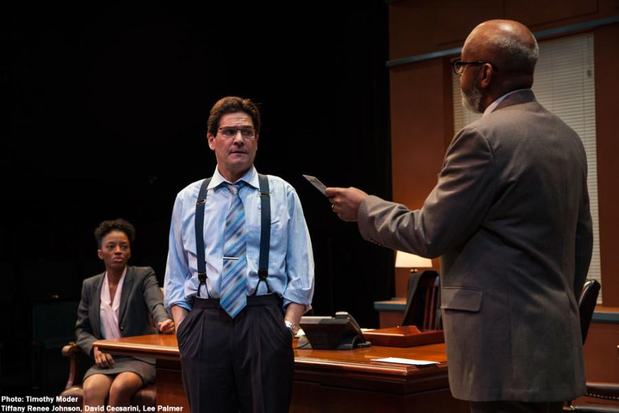 Next Act Theater presents  David Mamet's Race. Photo courtesy of Timothy Moder.