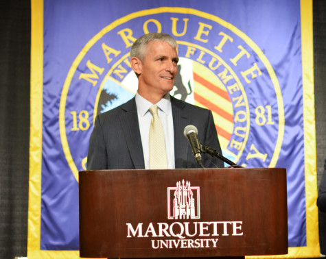 Interim leaders offer insight at university address, forum