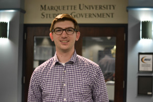 Programs Vice President Tyler Tucky, a junior in the College of Arts & Sciences, will run for MUSG president this spring with his running mate, Rosie De Luca, a junior in the College of Business Administration.