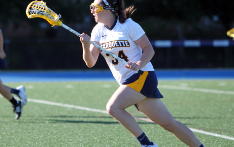 Women's Lax rallies late, falls to Nova