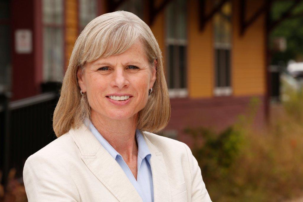 Democratic gubernatorial candidate Mary Burke joined