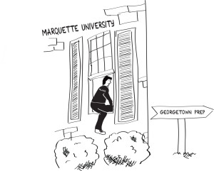 Illustration by Ellery Fry / ellery.fry@marquette.edu