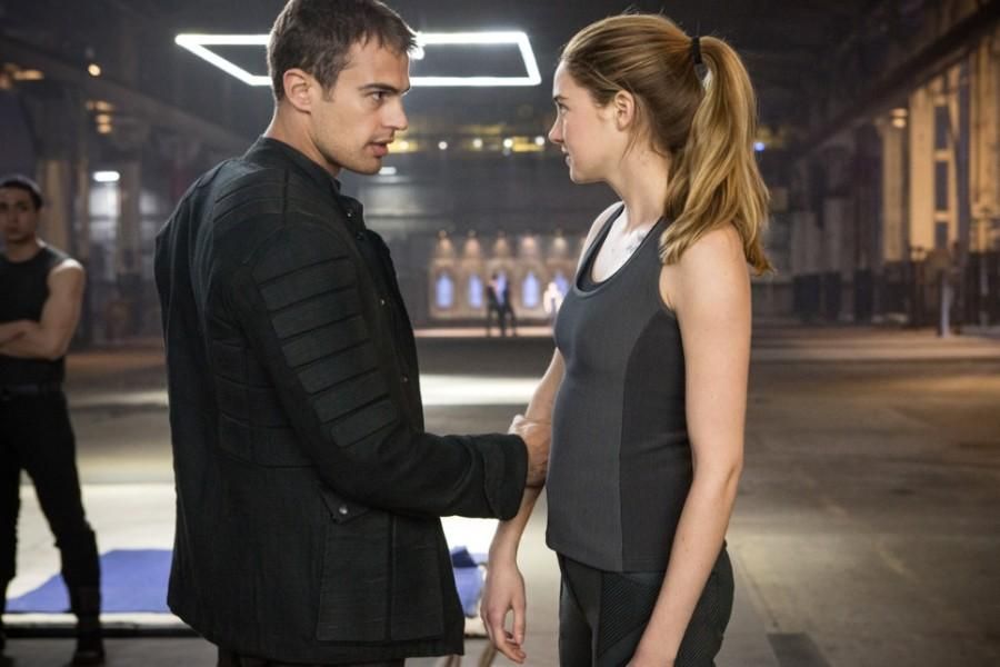 Theo James and Shailene  Woodley star in