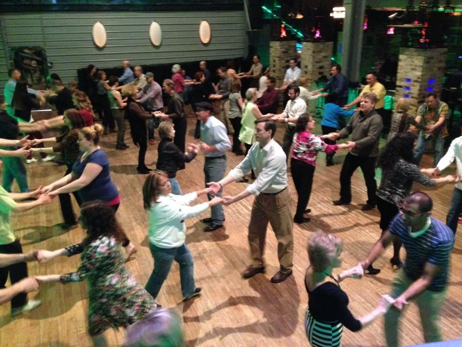 Tuesday Night Swing at the Wherehouse is one of Jumpin' Jive Club's most popular events. Photo courtesy of Stephanie Wise.
