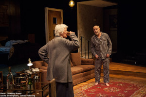 "An elderly couple makes a suicide pact in ""Three Views of the Same Object."" Photo via nextact.org"