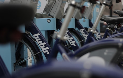 Students propose Bublr bike sharing stations for campus