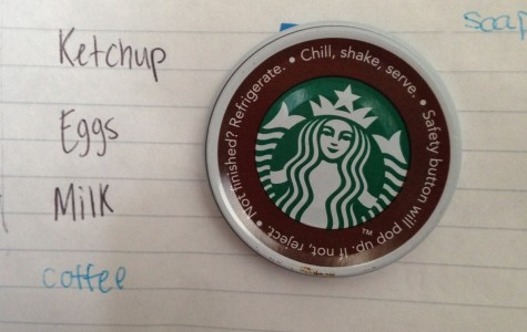 To-do lists can be a little less stressful with homemade Starbucks magnets. Photo by Hannah Byron/ hannah.byron@marquette.edu