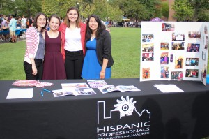 The Hispanic Professionals of Greater Milwaukee help students develop professional networks. Photo by Xidan Zhang/ xidan/zhang@mu.edu