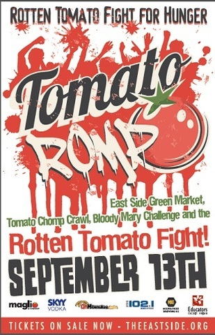 Tomato Romp Takes Food Fights To Next Level Marquette Wire