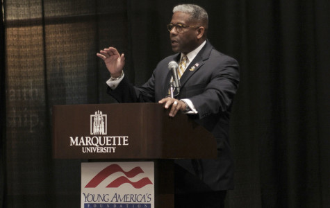Lt. Col. Allen West visits Marquette College Republicans