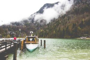 Bavarian Alps Boat