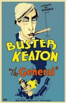 The General is a silent comedy made in 1926. Photo via imdb.com