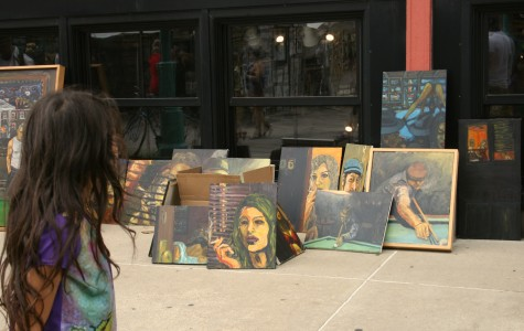 Rain puts no damper on annual art festival