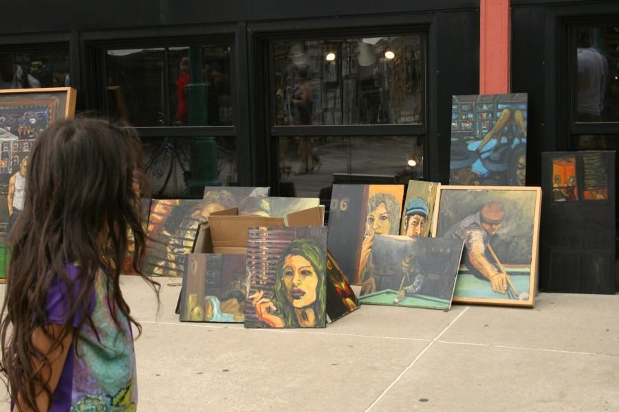 The Third Ward Art Festival features artwork and artists from all around the country.