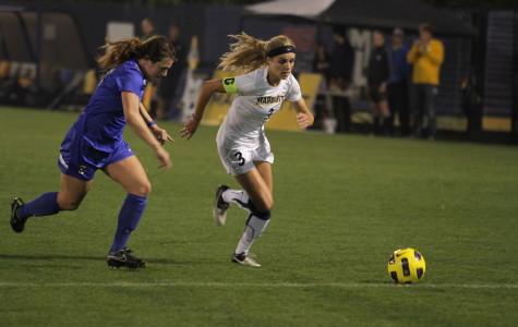Women's soccer battles St. John's for 1st in Big East