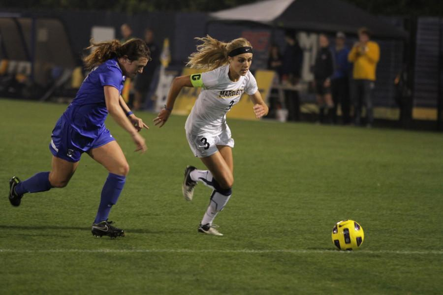 Womens soccer battles St. Johns for 1st in Big East