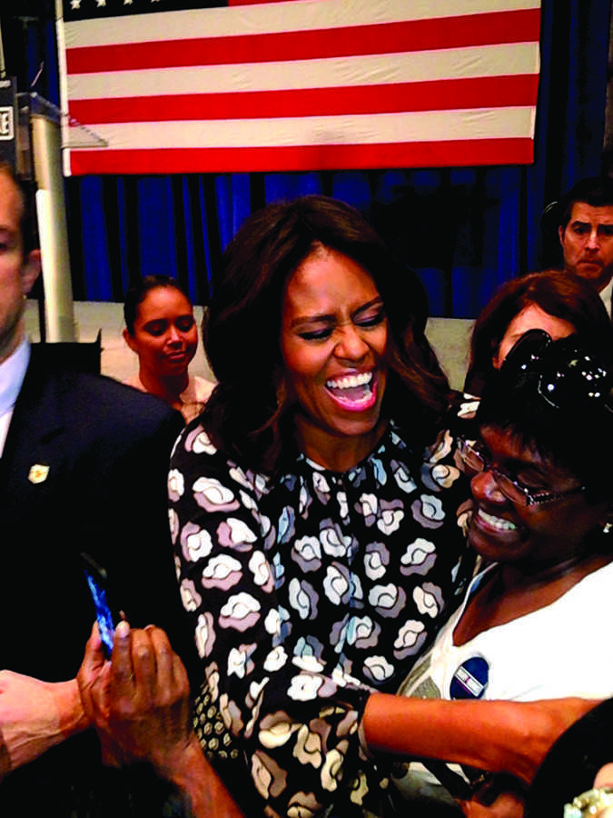 First Lady Michelle Obama visits Milwaukee