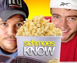 Kristian Harloff and Mark Ellis make up movie critic team, Schmoes Know. Photo via Facebook.