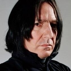 Severus Snape, the potions master from the