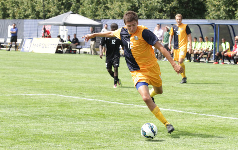 Men's soccer looks to continue success against Drake