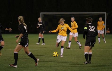 Women's soccer faces tough home test in No. 16 Kansas