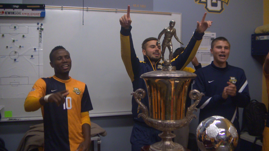 """Kicks"" delves into the inner-workings of the Marquette University men's soccer team on and off the pitch. Join SPORTS.edu as they offer an all-access look into a Division I Big East soccer program."