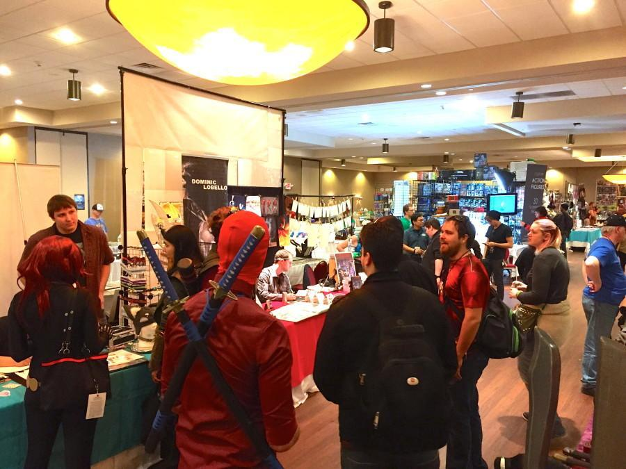 Comic and pop culture fans unite in downtown Milwaukee for the city's first Fantasticon convention. (Photo by Jack Taylor/jack.taylor@marquette.edu)