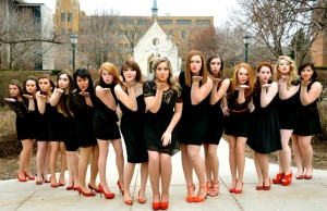 The Meladies officially became an a cappella group in 2013. Photo via Facebook