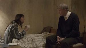 Joe (Charlotte Gainsbourg) recalls her erotic life-story to Seligman (Stellan Skarsgård). Photo via nerdiest.com