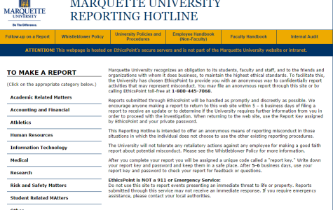 Students encouraged to use EthicsPoint for crime reporting