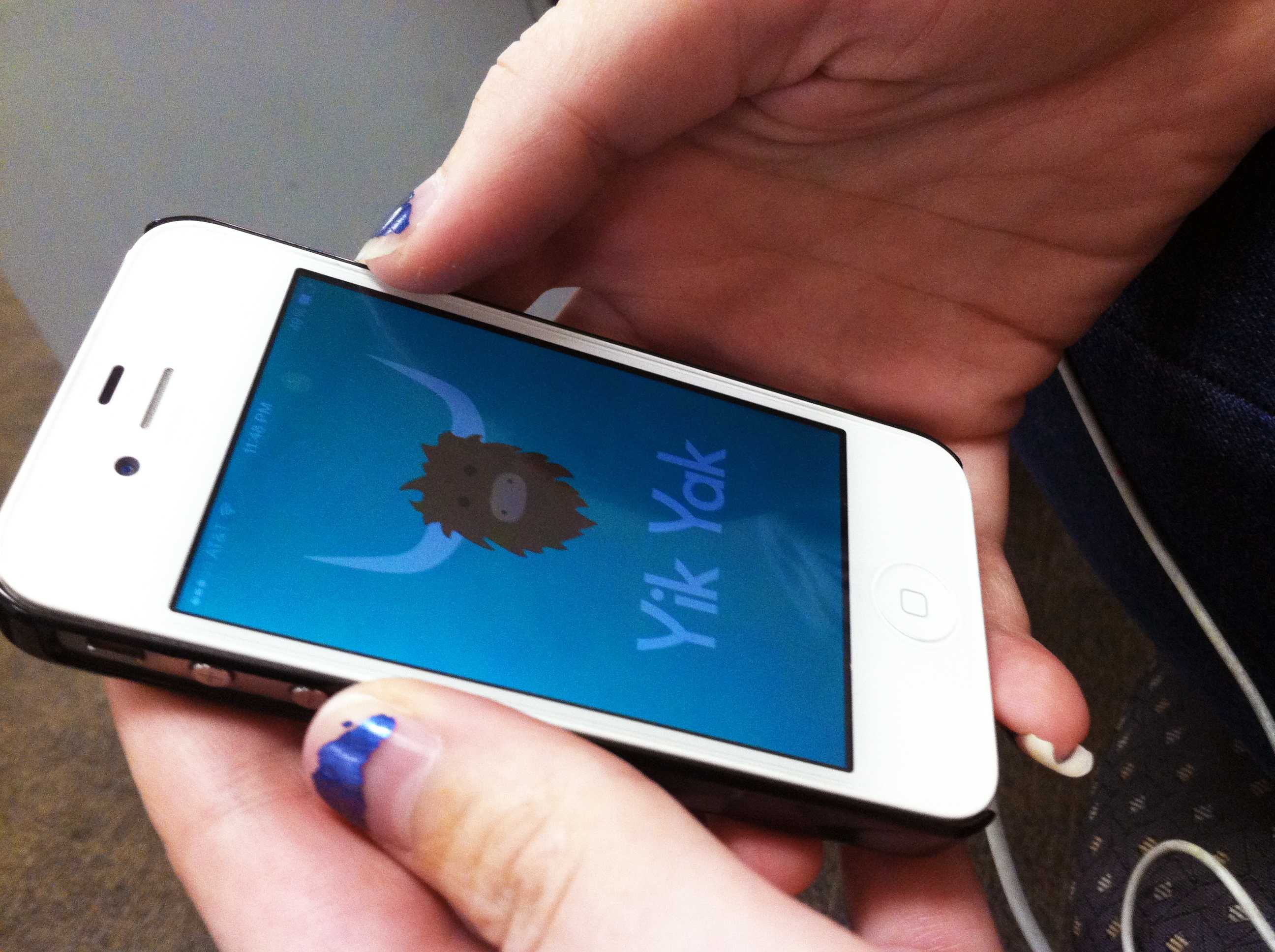 The Yik Yak app, an anonymous social media app similar to Twitter, attracted attention after a student at Pennsylvania State University was arrested for making a threatening comment.