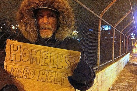 Homelessness remains a great problem in American cities, with some choosing to enact handout bans in public places.