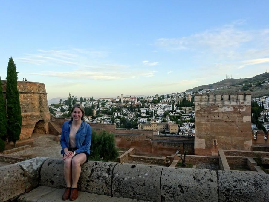 Jennifer Waters in Spain. Photo via Facebook