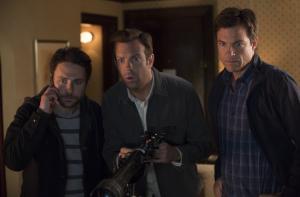 Charlie Day, Jason Sudeikis and Jason Bateman in Horrible Bosses 2. (Photo via imdb.com)