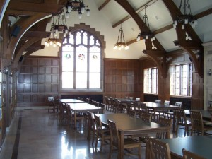 Eisenberg Hall located on the third floor of Sensenbrenner Hall, the building now home to the College of Arts & Sciences. Photo courtesy of the Marquette History Department