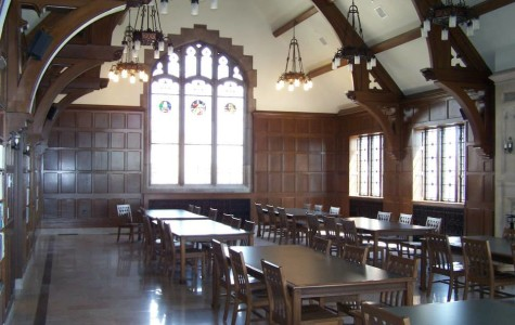 Eisenberg Hall, located on the third floor of Sensenbrenner Hall, the building now home to the College of Arts & Sciences. Photo courtesy of the Marquette History Department