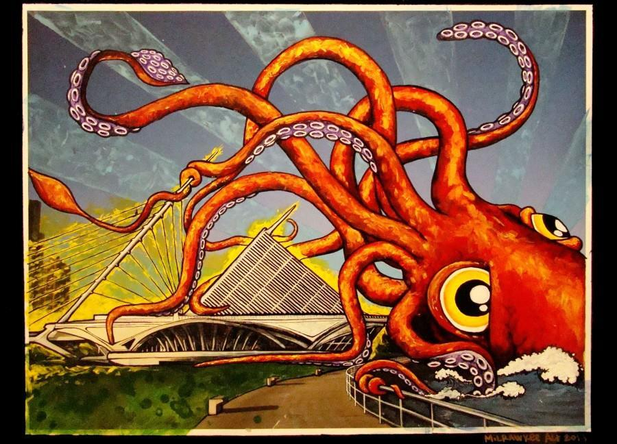 Whats Kraken MKE? Artwork by MilRAWkee Alt, provided by Ryan Laessig